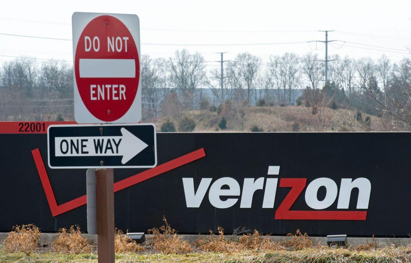 Le siège social de Verizon, à Ashburn, en Virginie