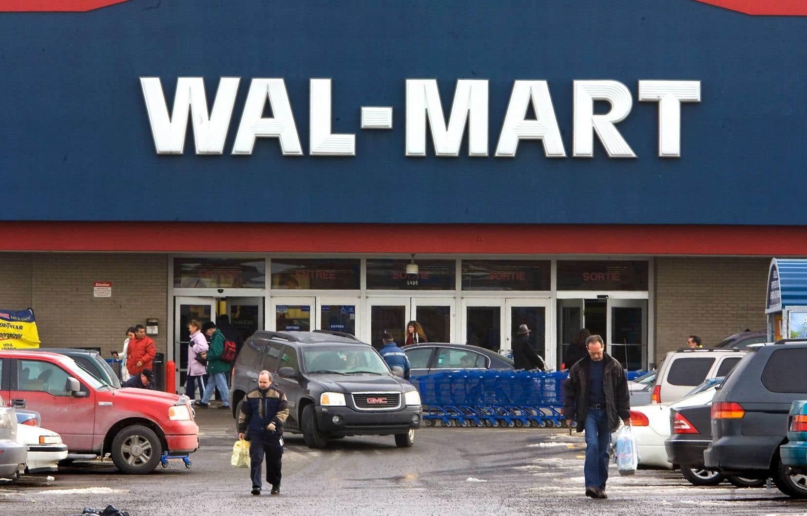 En 2016, le bénéfice de Wal-Mart a été de 13,6milliards $US.