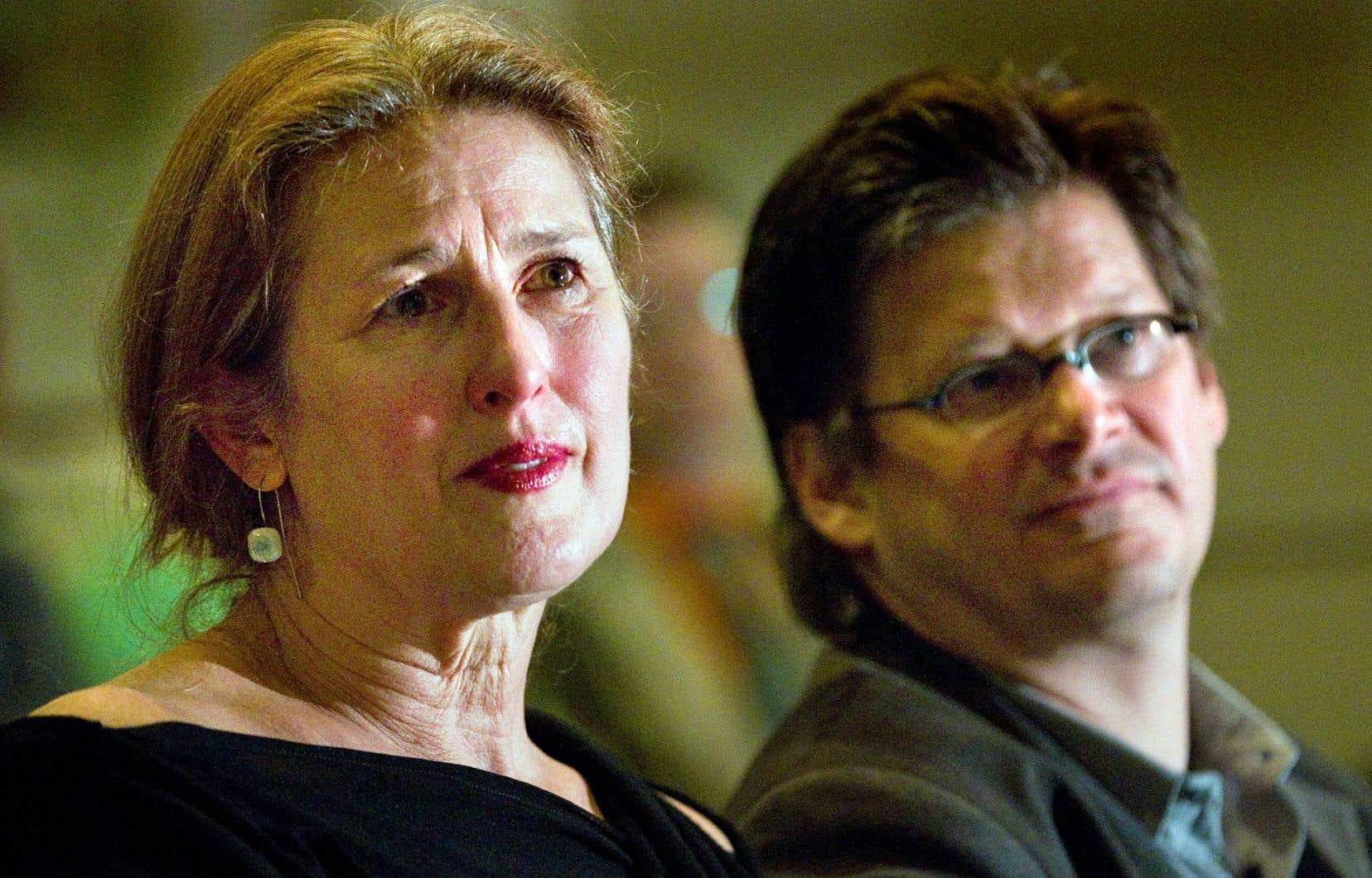 Margie Gillis, l'une des artistes qui devra faire son deuil de sa relation avec Leonard Cohen.