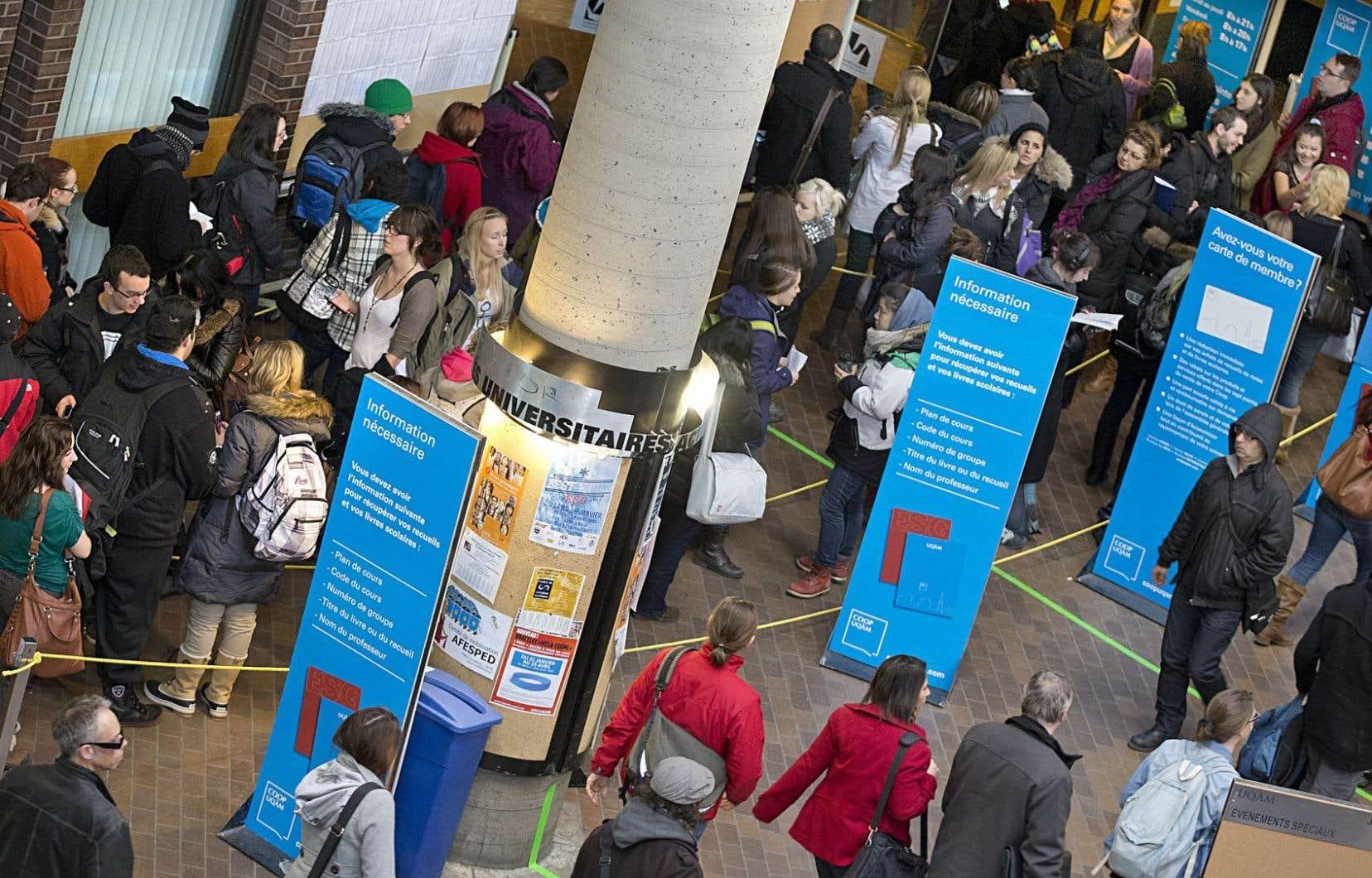 L'université contemporaine représente au Québec un véritable moteur d'innovations sociales, culturelles, politiques et économiques.