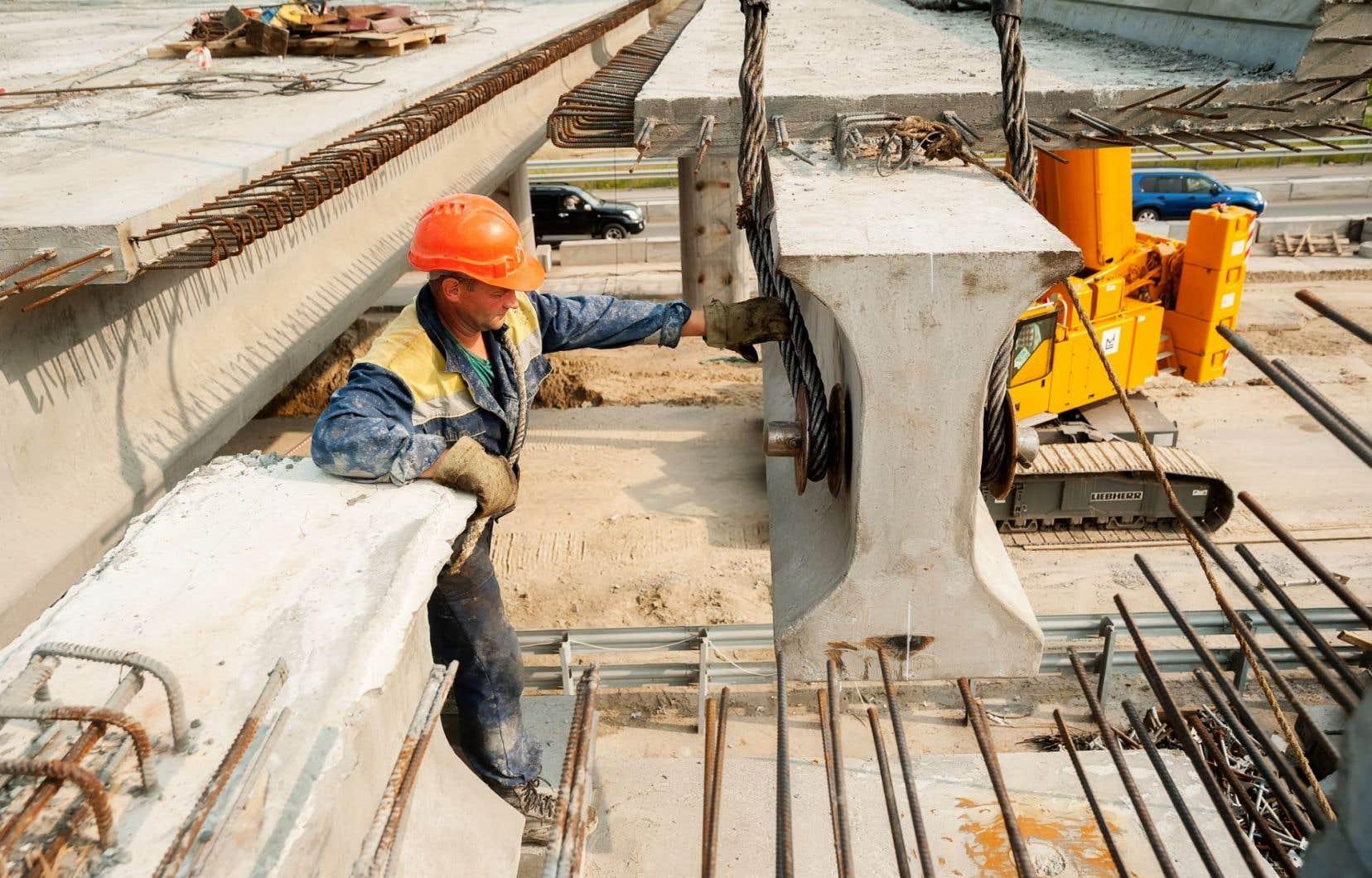 WSP comme les autres firmes d'ingénierie attendent beaucoup des dépenses dans les infrastructures promises par le gouvernement Trudeau.