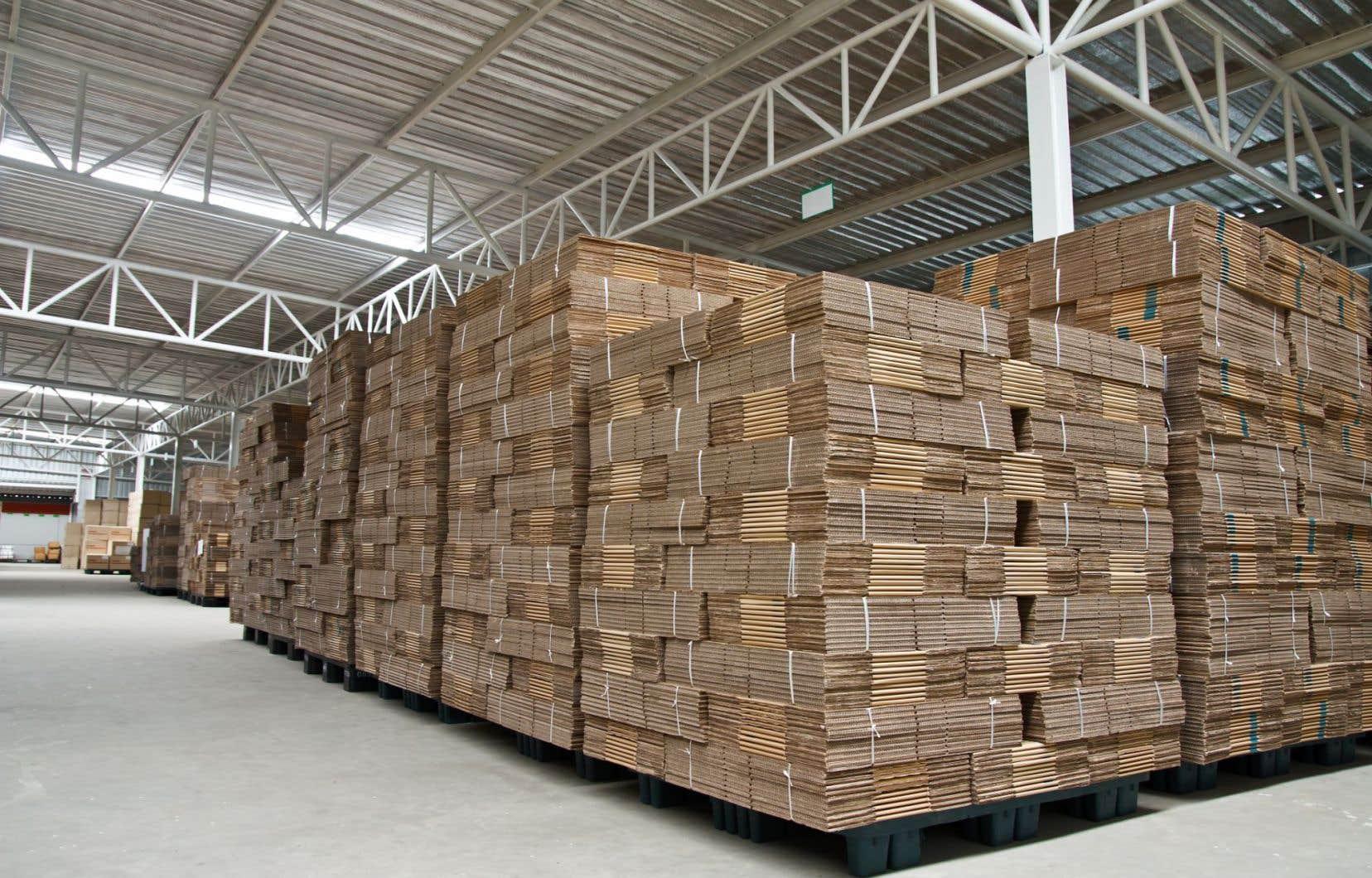 Le recul du bénéfice d'exploitation ajusté de Cascade s'explique entre autres par des baisses de prix dans les activités de carton plat en Europe ainsi que de carton caisse.