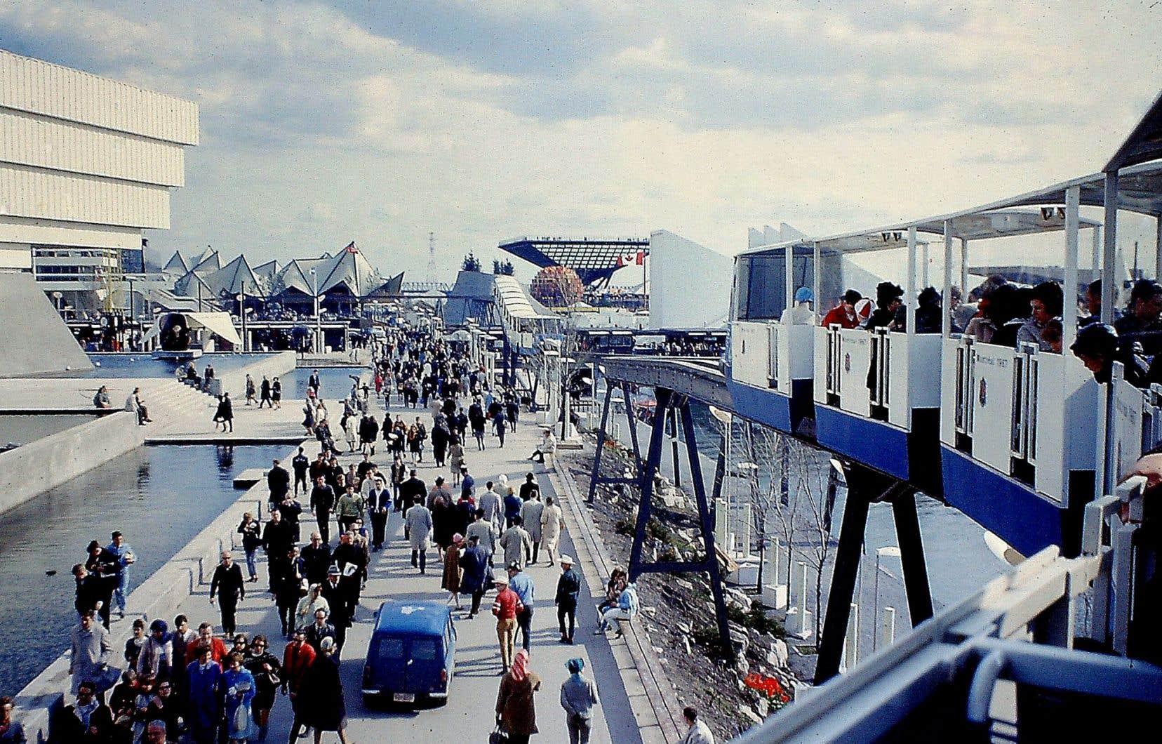 Pour les organisateurs de la Nuit blanche, faire revivre Expo 67 a été très enthousiasmant.