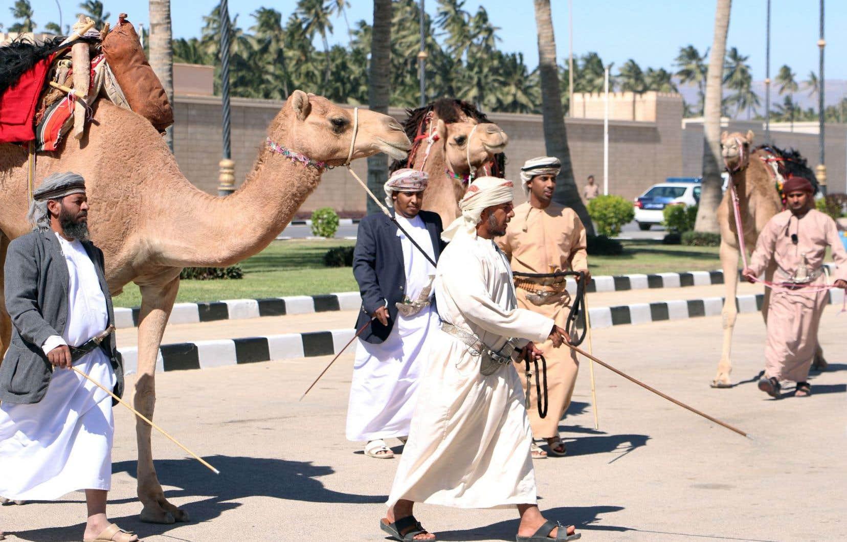 La ville de Salalah, dans le sud d'Oman