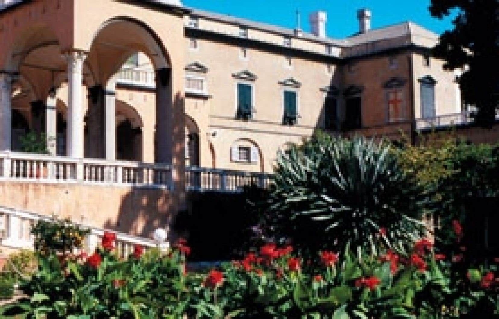 L'énorme villa de campagne le Palazzo del Principe, à Gênes.