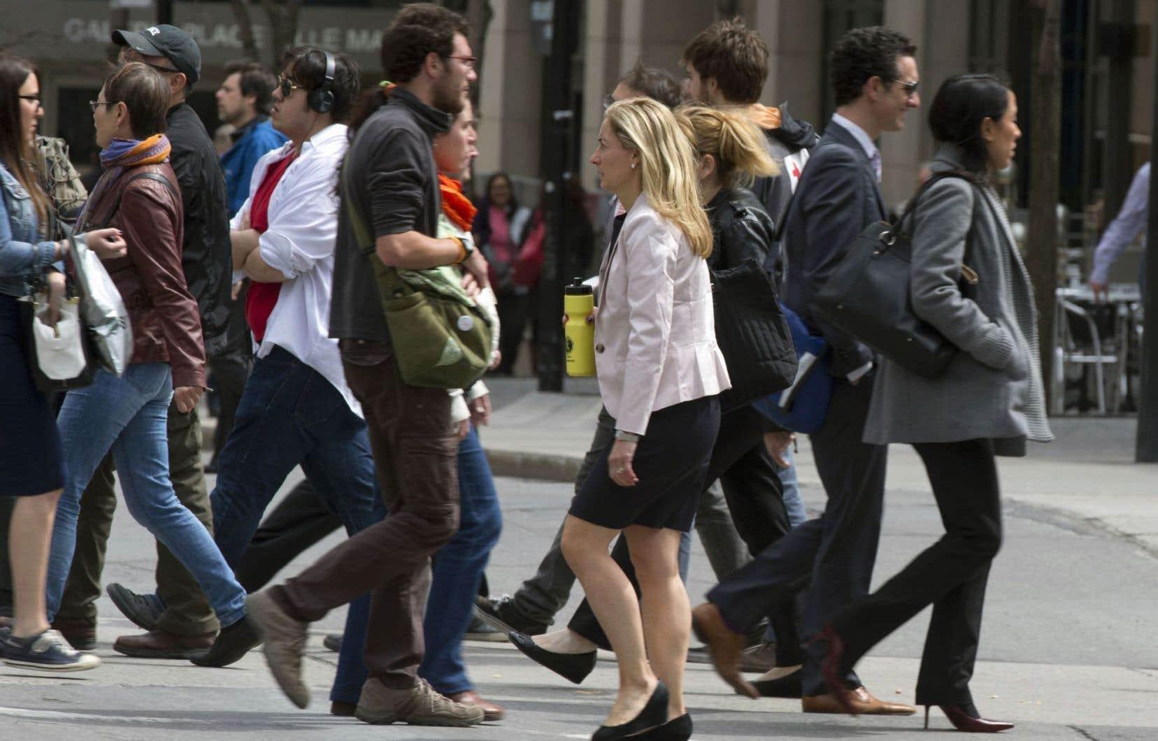 Dans le privé, le salaire horaire moyen des femmes était inférieur de 3,47$ à celui des hommes à la fin de 2015.