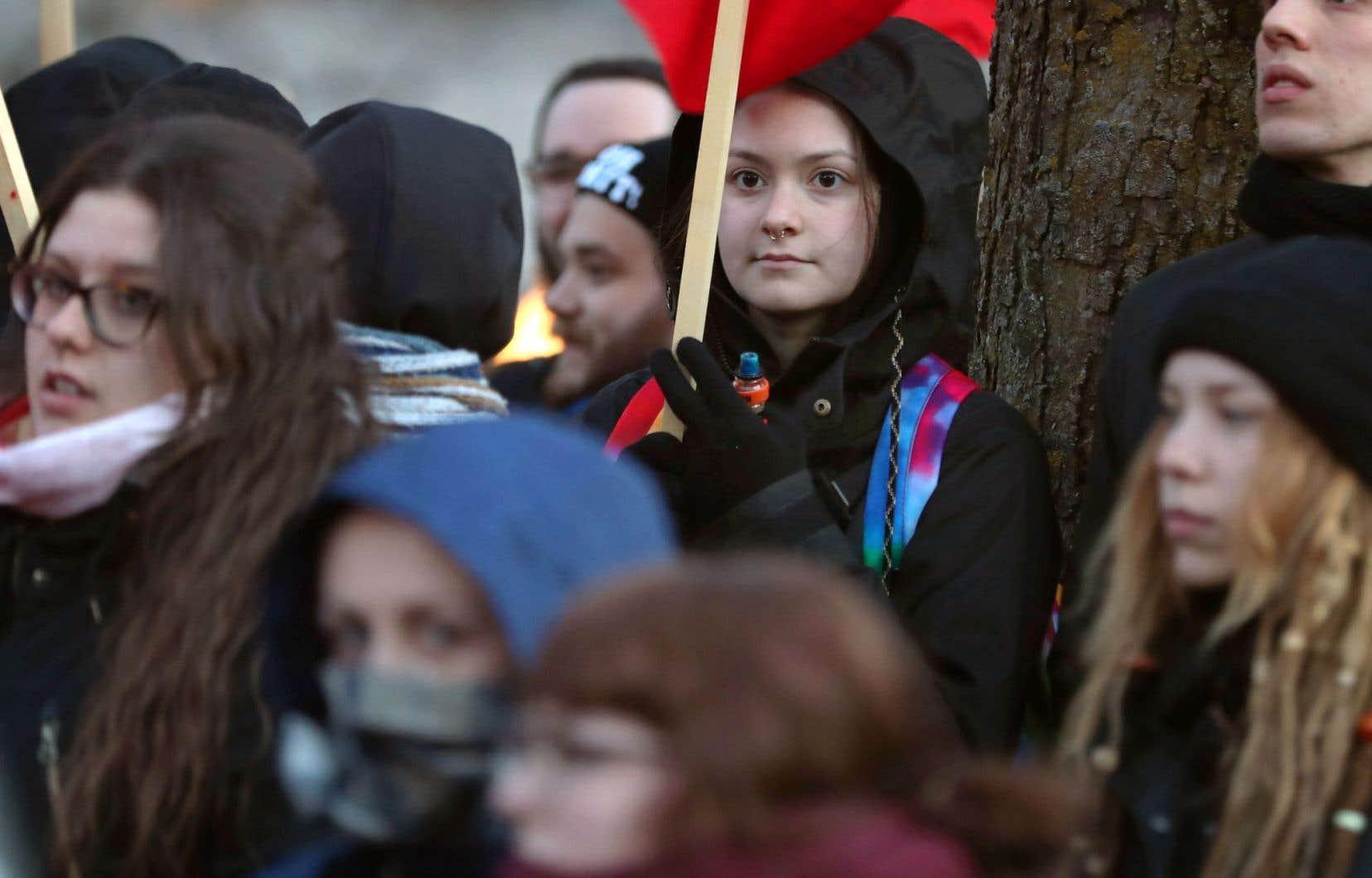 À Montréal, elles ont été quelques centaines à marcher à l'invitation de Femmes de diverses origines.