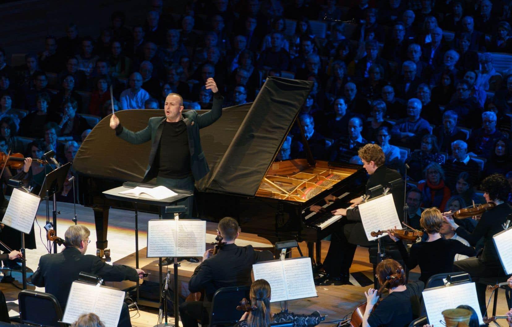 Le chef d'orchestre Yannick Nézet-Séguin