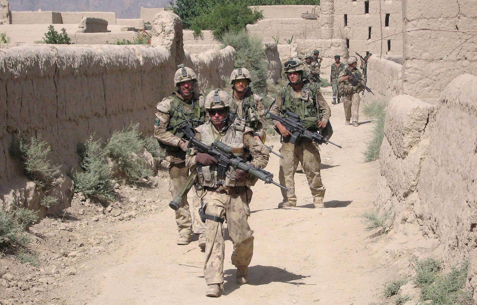 Les troupes canadiennes ont participé à plusieurs missions de l'OTAN, notamment en Afghanistan.