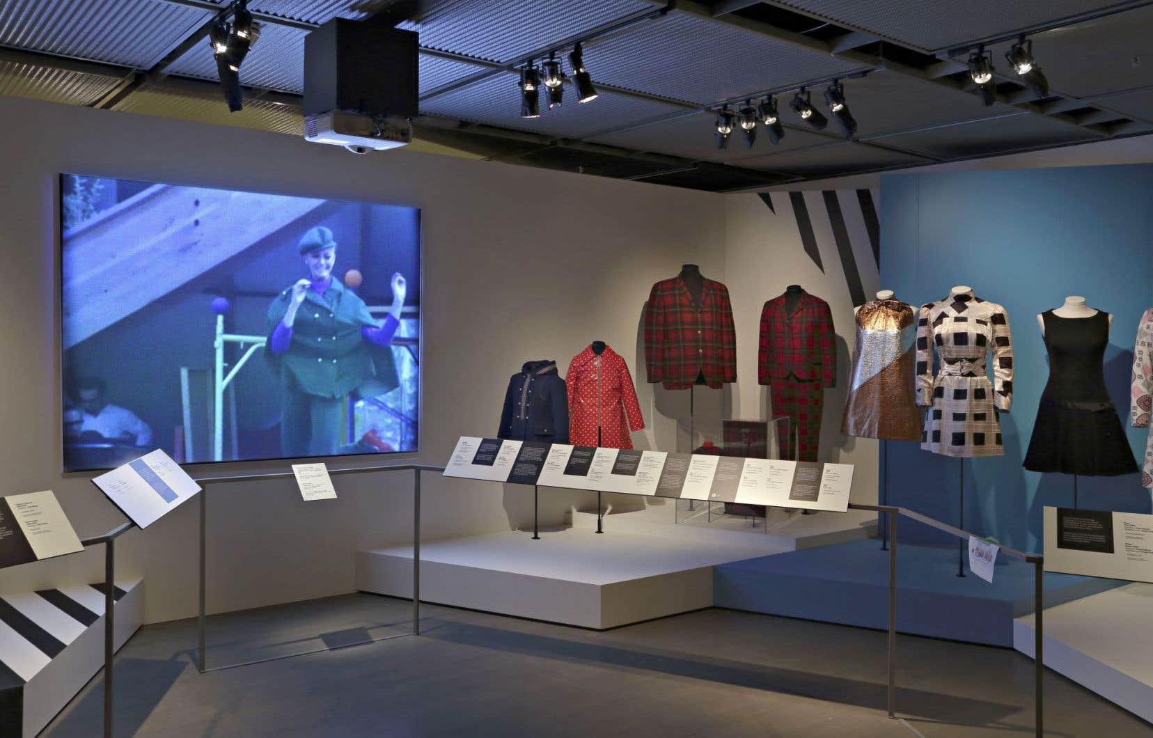 Vue sur une section de l'exposition «Mode Expo 67»