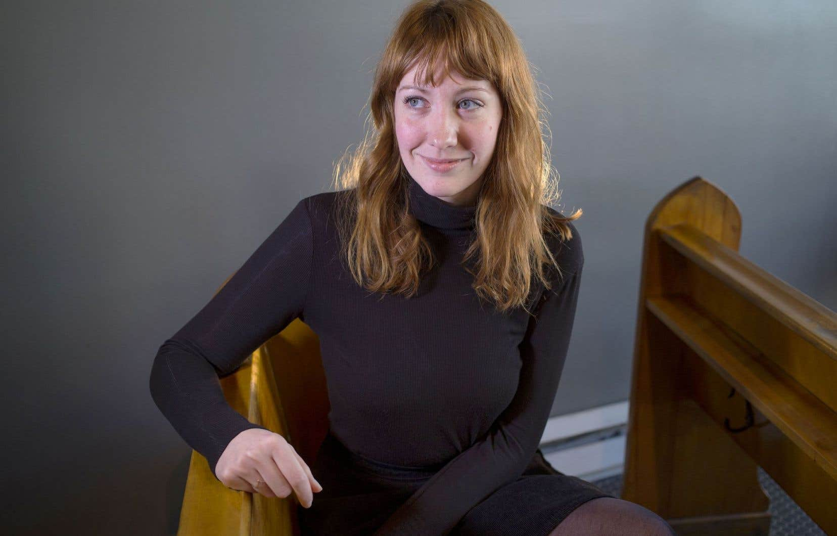 La rédactrice en chef d'«Urbania» a lu Simone de Beauvoir et Jean-Paul Sartre avant même l'adolescence.