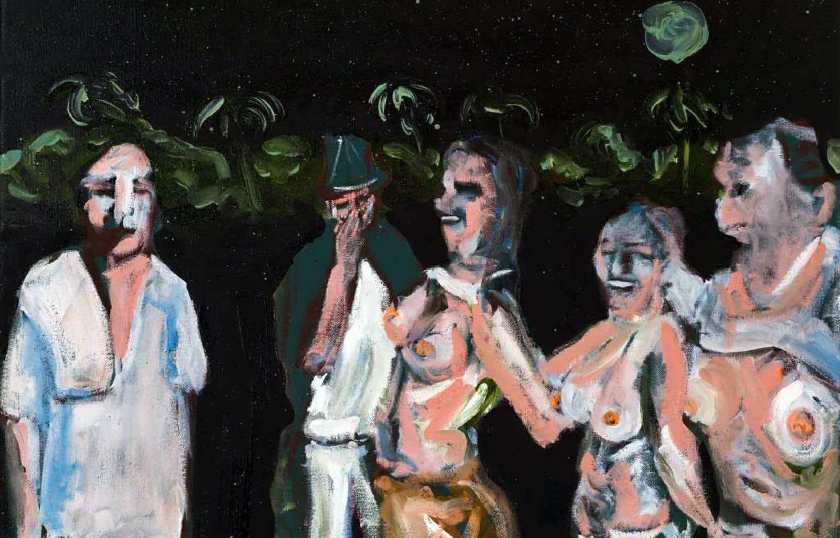 «Pleine lune», de Christian Messier, 2017, fait partie des six œuvres censurées.