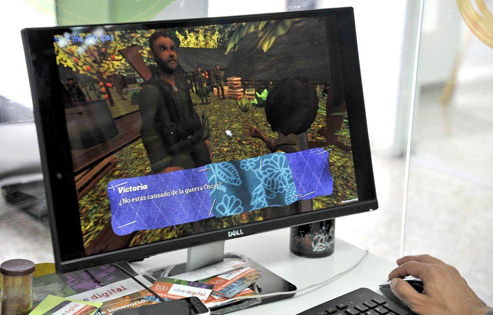 Le jeu colombien Reconstruction invite les joueurs à incarner les victimes du conflit opposant les FARC au gourvernement.