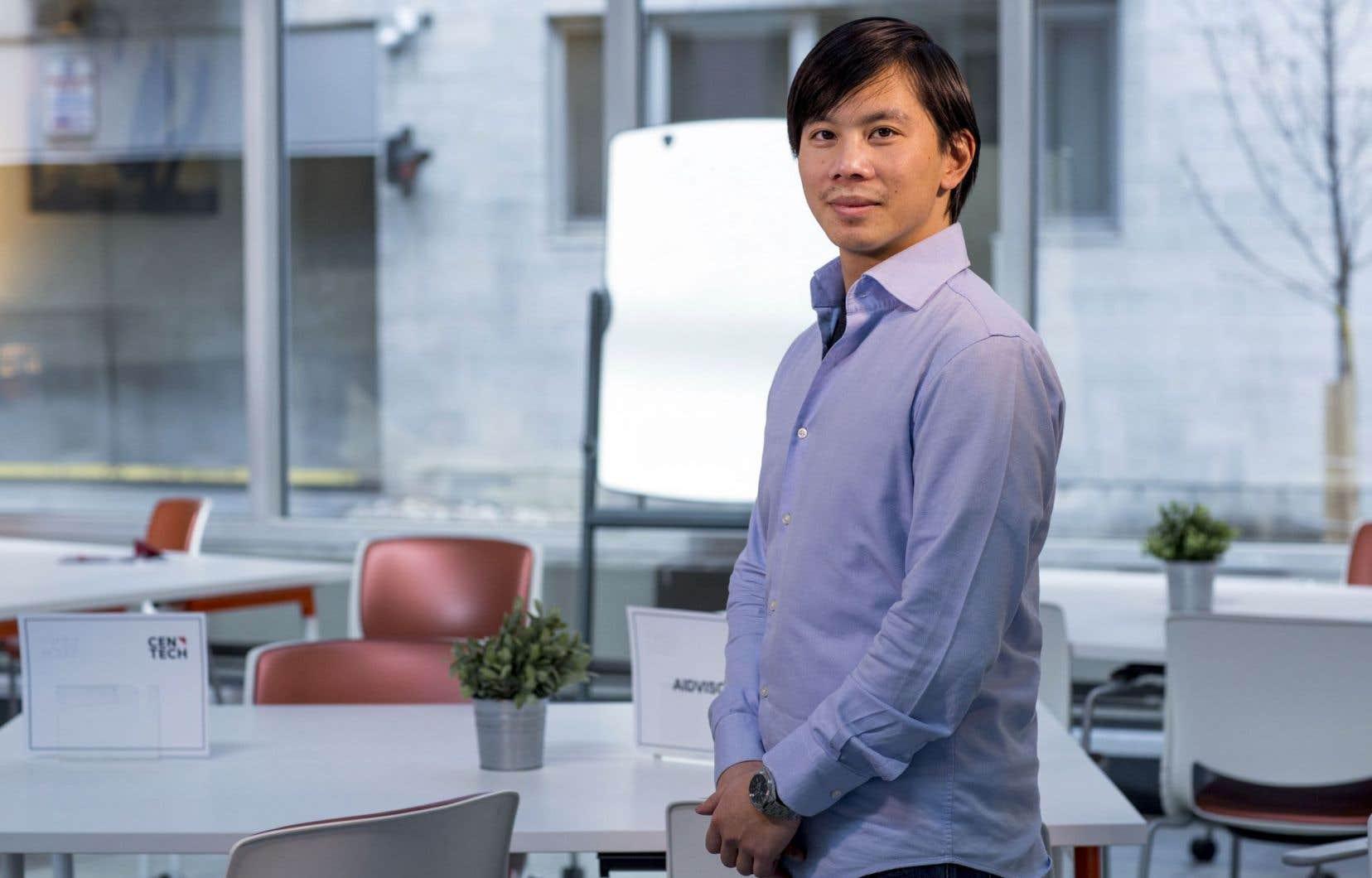 Andy Ta, entrepreneur à 21ans