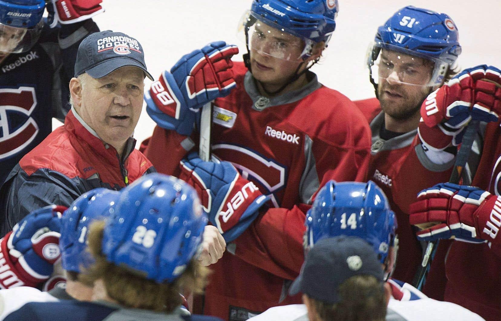 «Ce qui est important aujourd'hui, c'est de se qualifier pour les séries», déclare l'entraîneur-chef du Canadien de Montréal, Claude Julien.