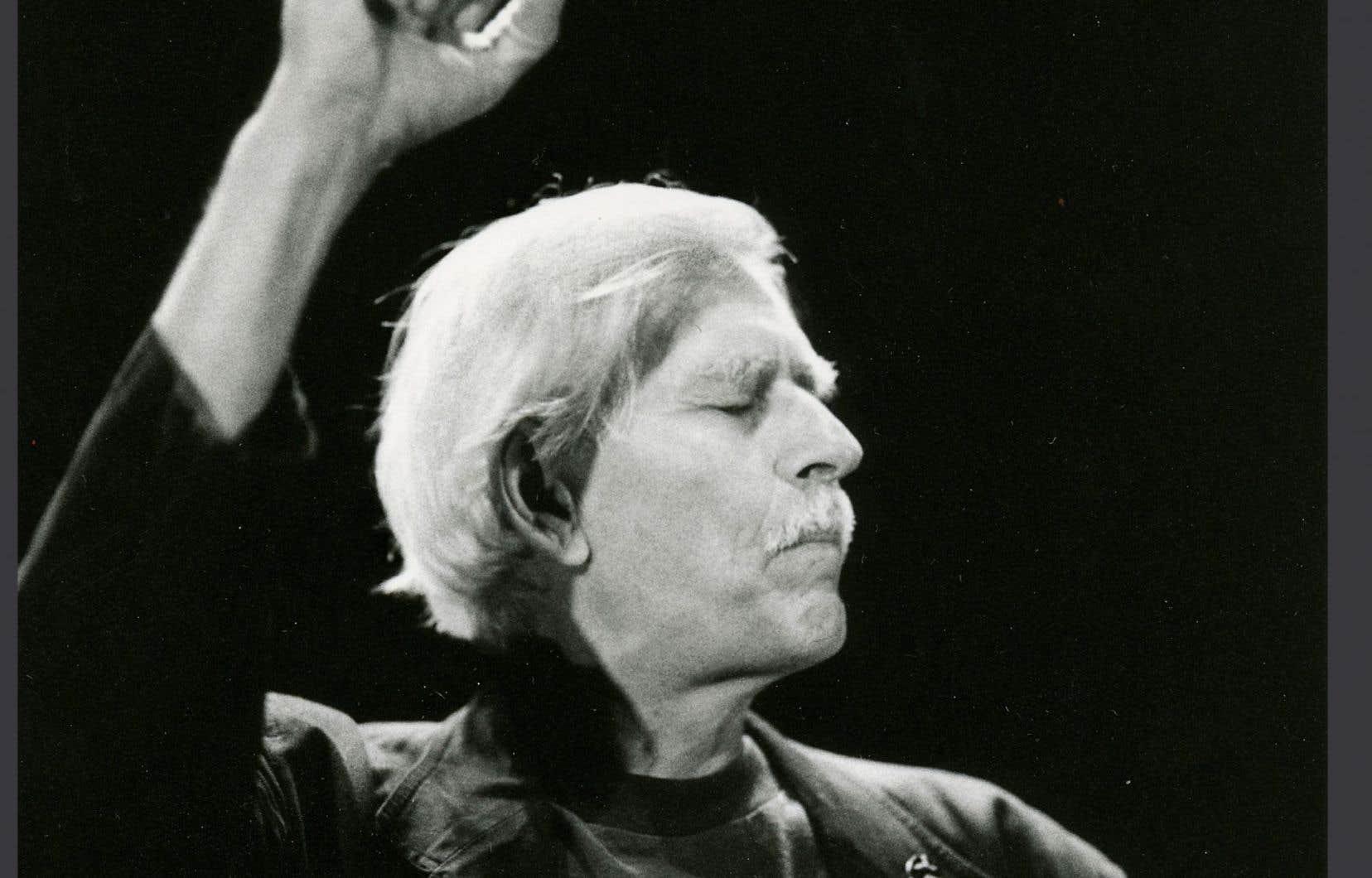 Le comédien Benoît Girard dans la pièce «Le marchand de Venise», au Théâtre d'Aujourd'hui en 1996