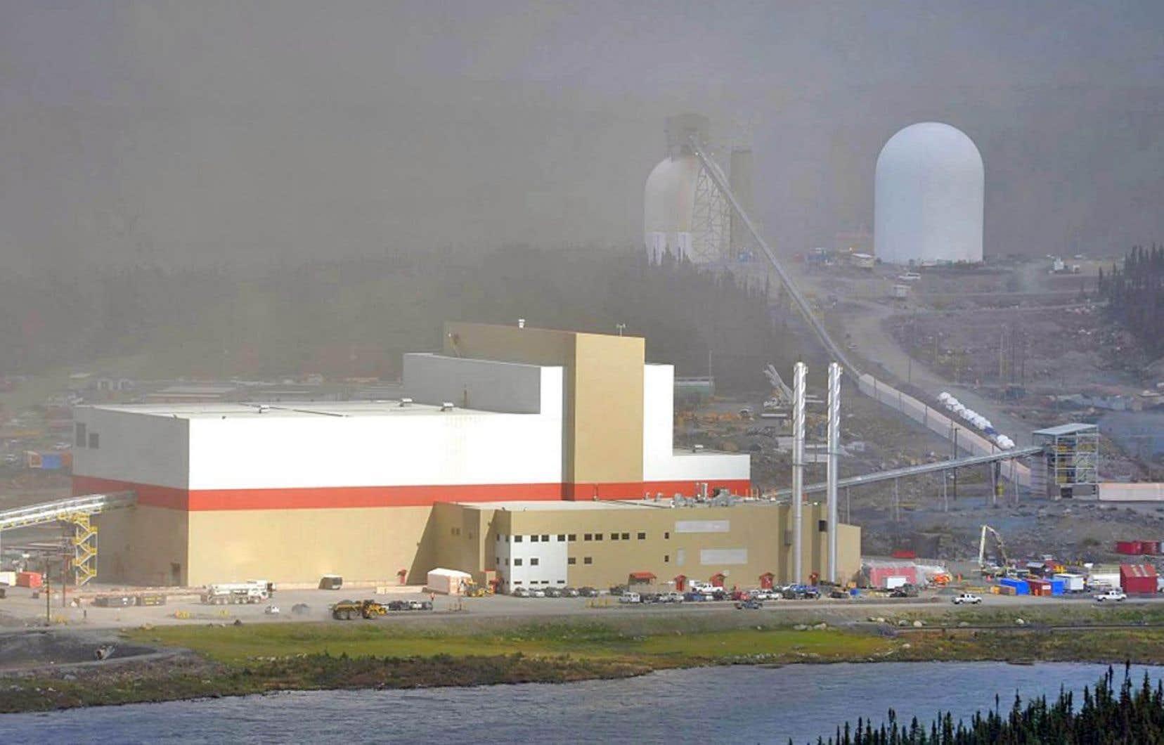 La mine de fer du lac Bloom, près de Fermont