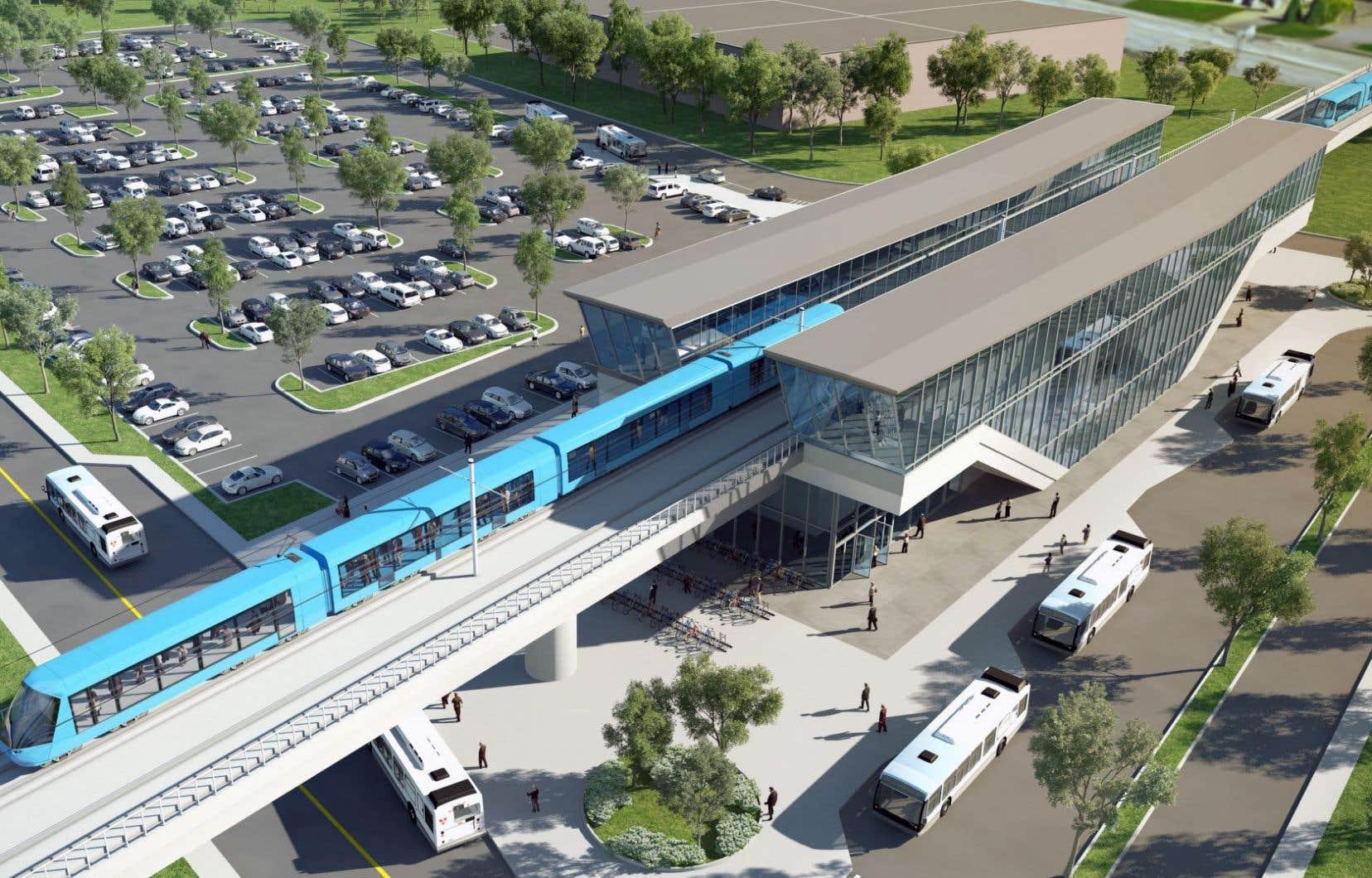Le gouvernement a annoncé 22millions pour l'année investis dans le transport collectif partout au Québec.