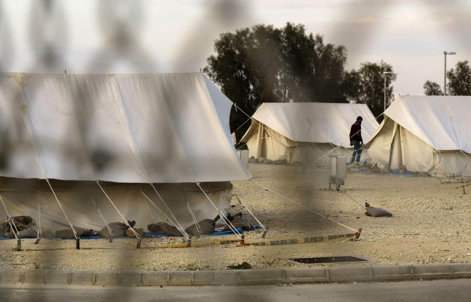 Membre de l'Union européenne, l'île de Chypre est située à seulement 100 km de la Syrie en guerre, mais n'a jusqu'ici pas enregistré d'afflux massif de réfugiés.
