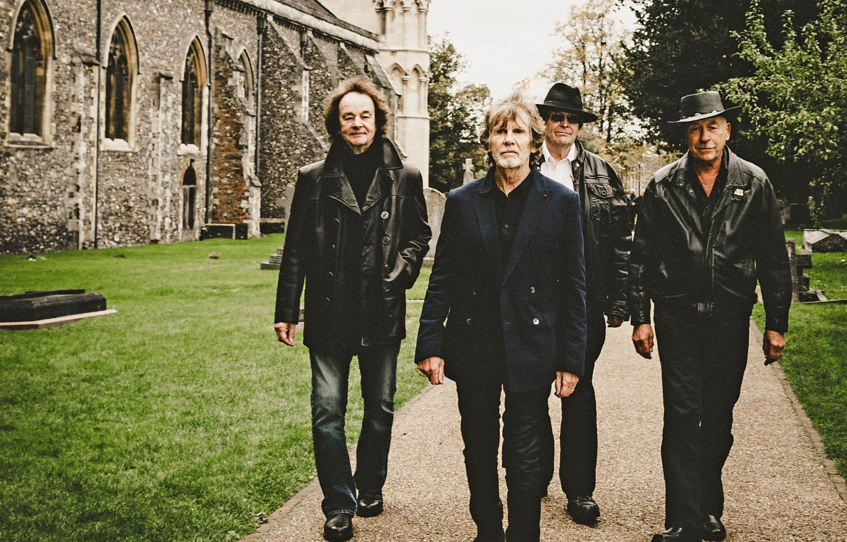 The Zombies: Colin Blunstone, Rod Argent, Chris White et Hugh Grundy