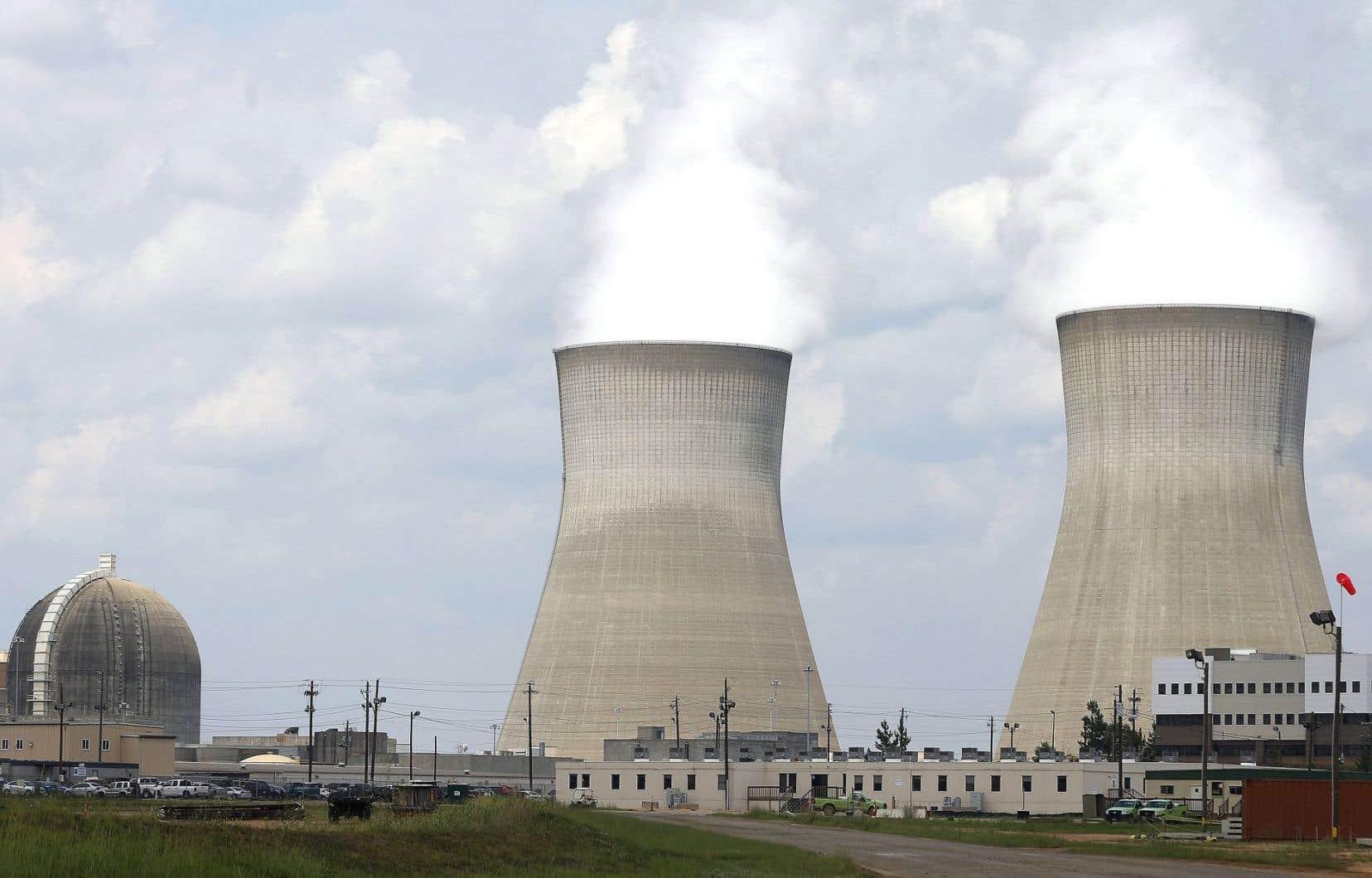 La centrale nucléaire Vogtle, à Waynesboro, en Géorgie