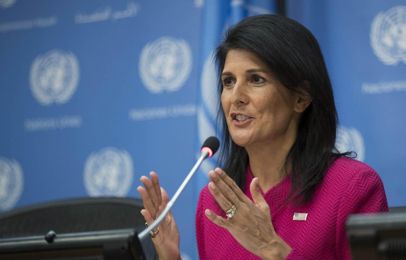 La liberté de ton de Nikki Haley a vite attiré l'attention dans le milieu feutré des Nations unies.