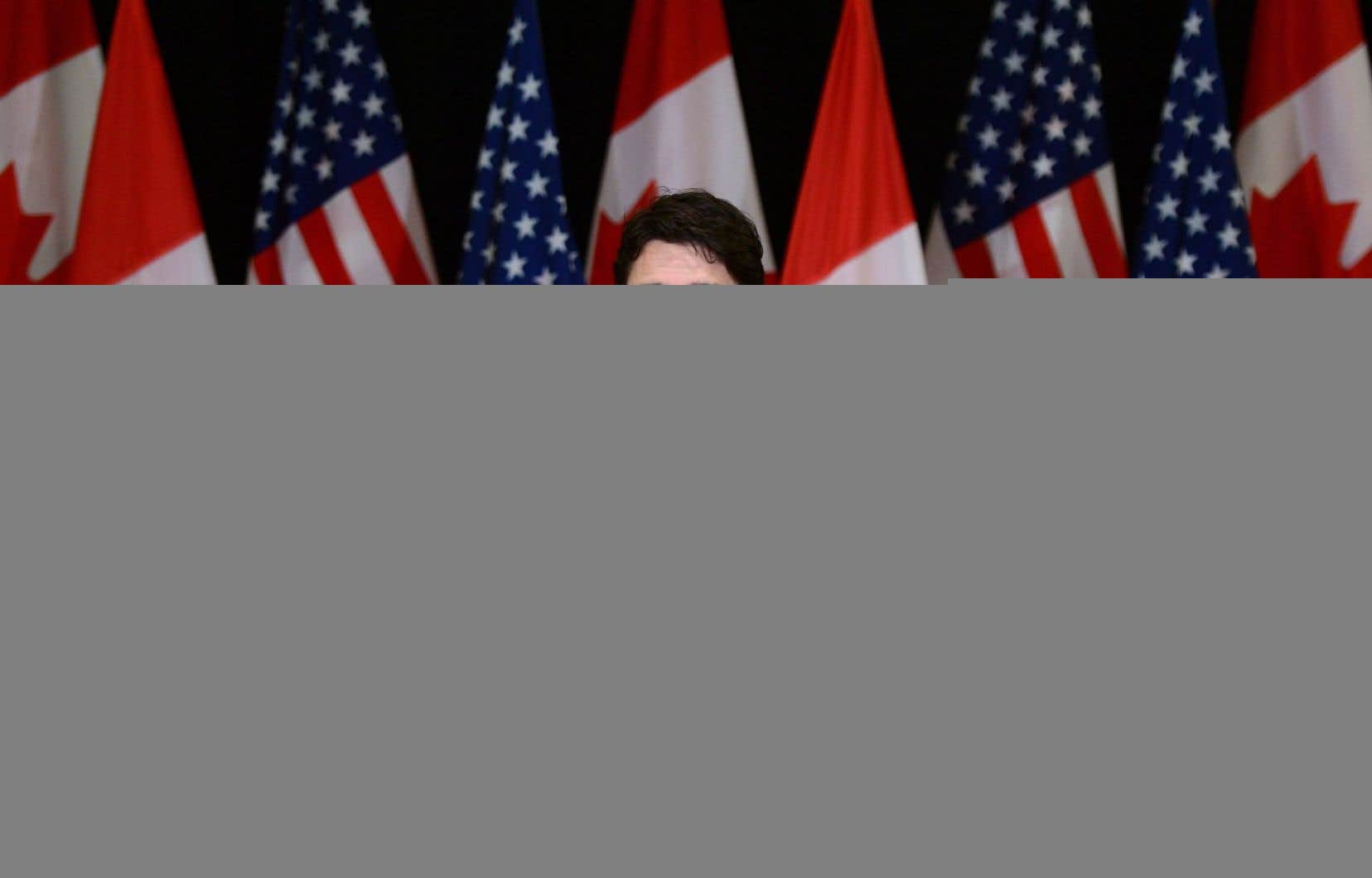 «Un allié digne de foi et digne de confiance, les États-Unis, nous a informé que c'est le régime de Bachar al-Assad qui est responsable de ces attaques chimiques», a affirmé Justin Trudeau.