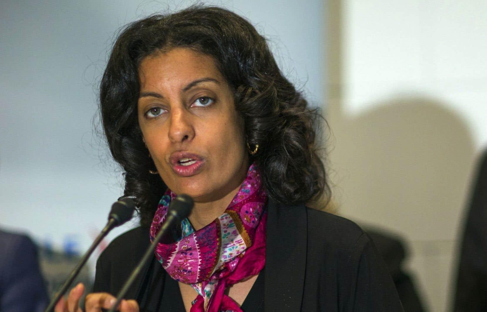 «Ce n'est pas du tout dans les plans», a affirmé lundi Dominique Anglade quant à la possibilité de revoir les modalités de l'investissement de 1,3milliard de l'État québécois dans la CSeries de Bombardier.