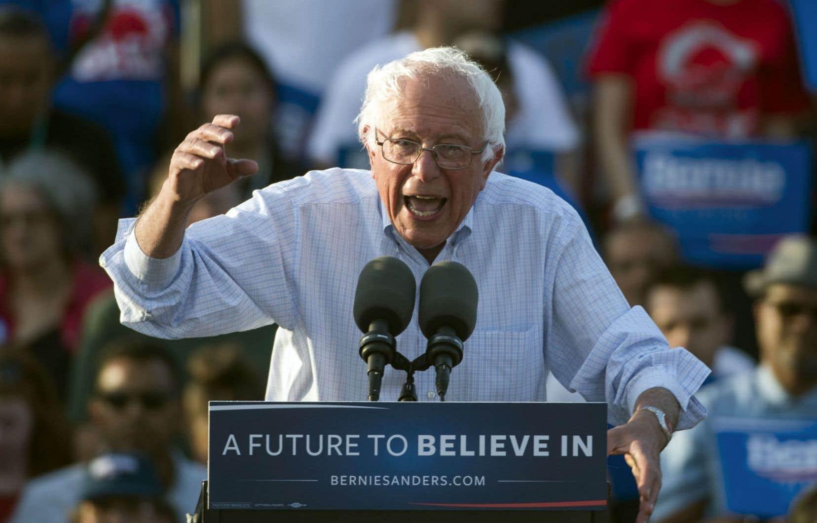 Bernie Sanders «canalisait la colère des gens vers une mobilisation sociale à caractère démocratique», affirme Gabriel Nadeau-Dubois.