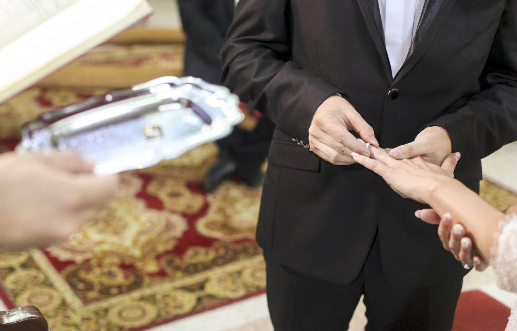Le «mariage est un acte de nature civile», a indiqué la procureure générale du Québec en Cour d'appel.
