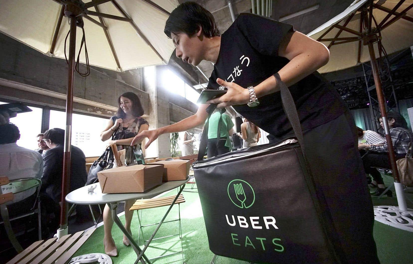 Uber a déjà lancé son service de livraison de repas un peu partout dans le monde, notamment au Japon en septembre dernier.