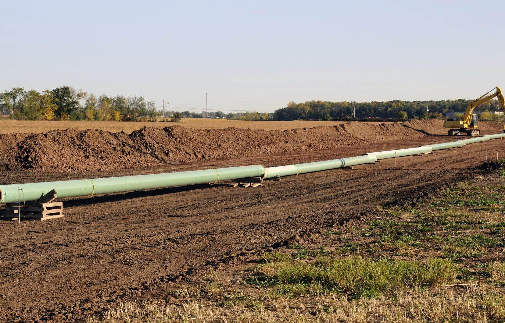 Selon une étude menée par le Centre de formation en traitement de l'eau, le projet d'oléoduc Énergie Est aurait un tracé dangereux pour les ressources en eau.
