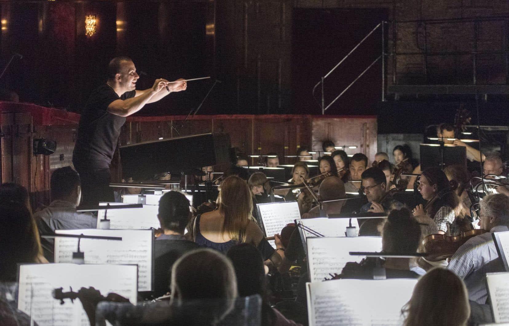 Le chef québécois a commencé les répétitions avec l'illustre orchestre new-yorkais.