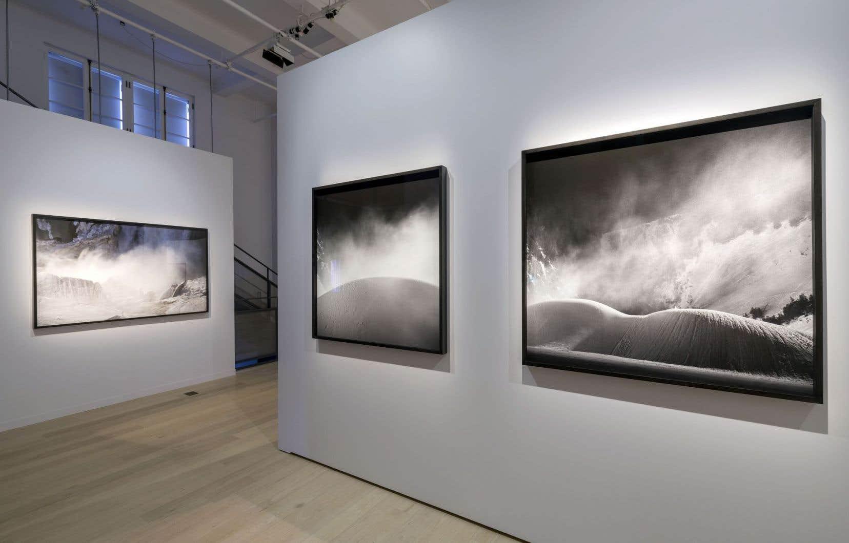 «Vide et vertige» réunit le travail de trois artistes: Ivan Binet, Jocelyne Alloucherie et Mathieu Cardin, un alliage tout en cohérence.