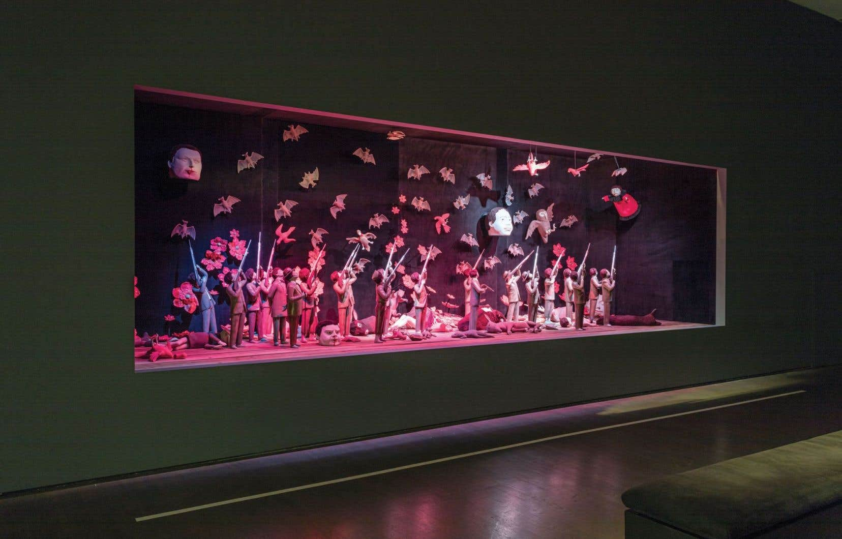 «L'état du monde» est l'une des deux expositions du cycle «Tableau(x) d'une exposition», présenté au Musée d'art contemporain de Montréal jusqu'au 19 novembre.