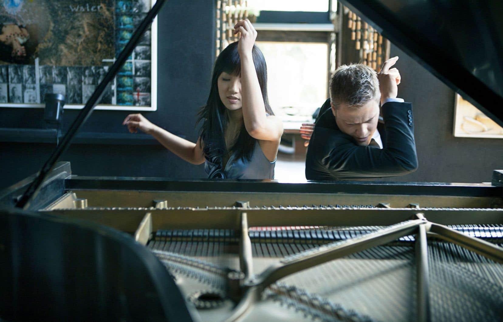 Le duo de piano Anderson et Roe
