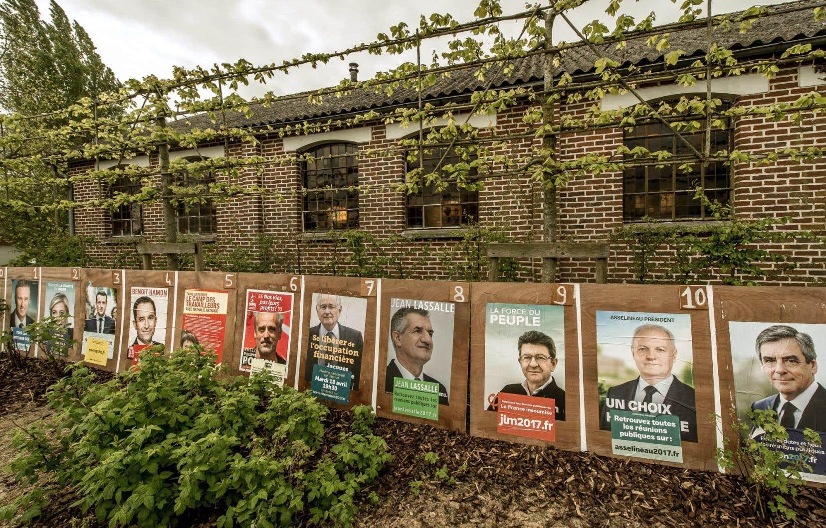 Onze candidats à la présidence s'offrent au choix des expatriés français.