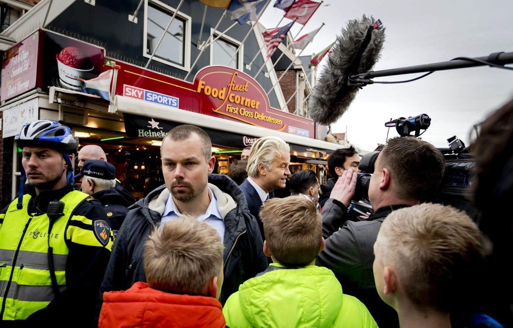 Geert Wilders, leader du parti d'extrême droite néerlandais PVV