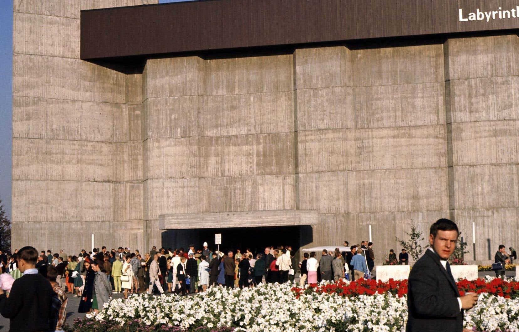 L'ONF avait son propre pavillon, surnommé «Le labyrinthe», très populaire.