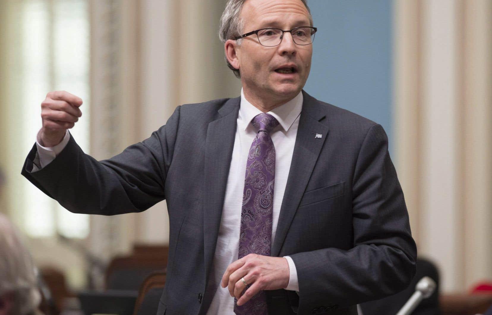 Le ministre de la Sécurité publique, Martin Coiteux, a déclaré que la situation avait «trop perduré»