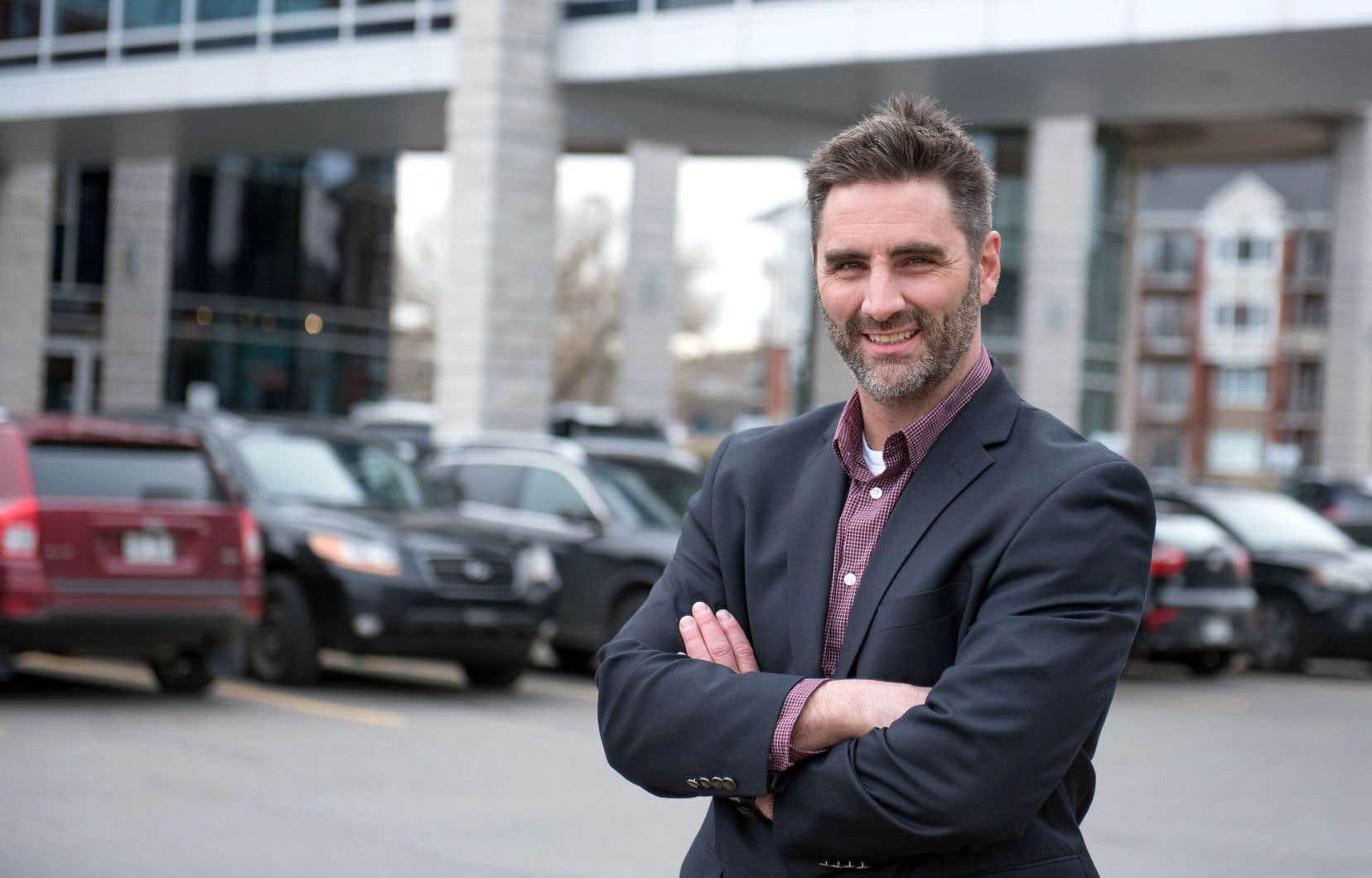 Jean-François Gosselin, ancien député de l'Action démocratique du Québec, compte affronter le maire sortant Régis Labeaume aux prochaines élections municipales.