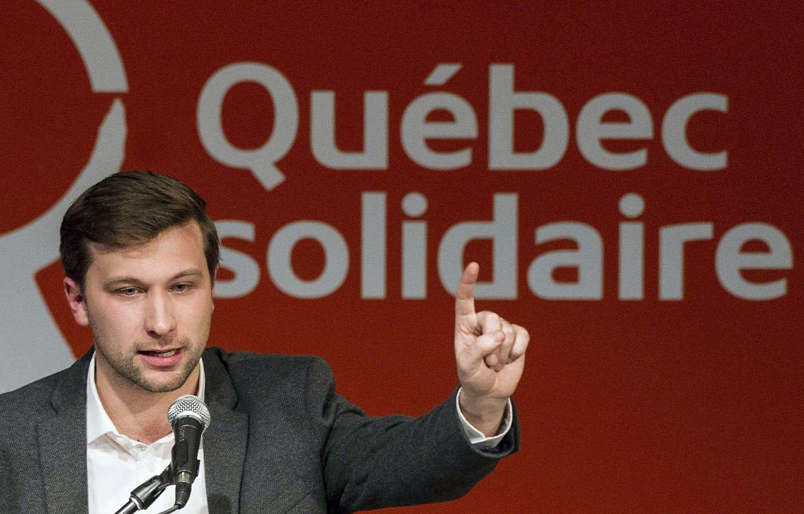 «Gabriel Nadeau-Dubois [...] m'apparaît comme une figure politique nécessaire qui mérite sa place dans notre univers politique», conclut l'auteure.