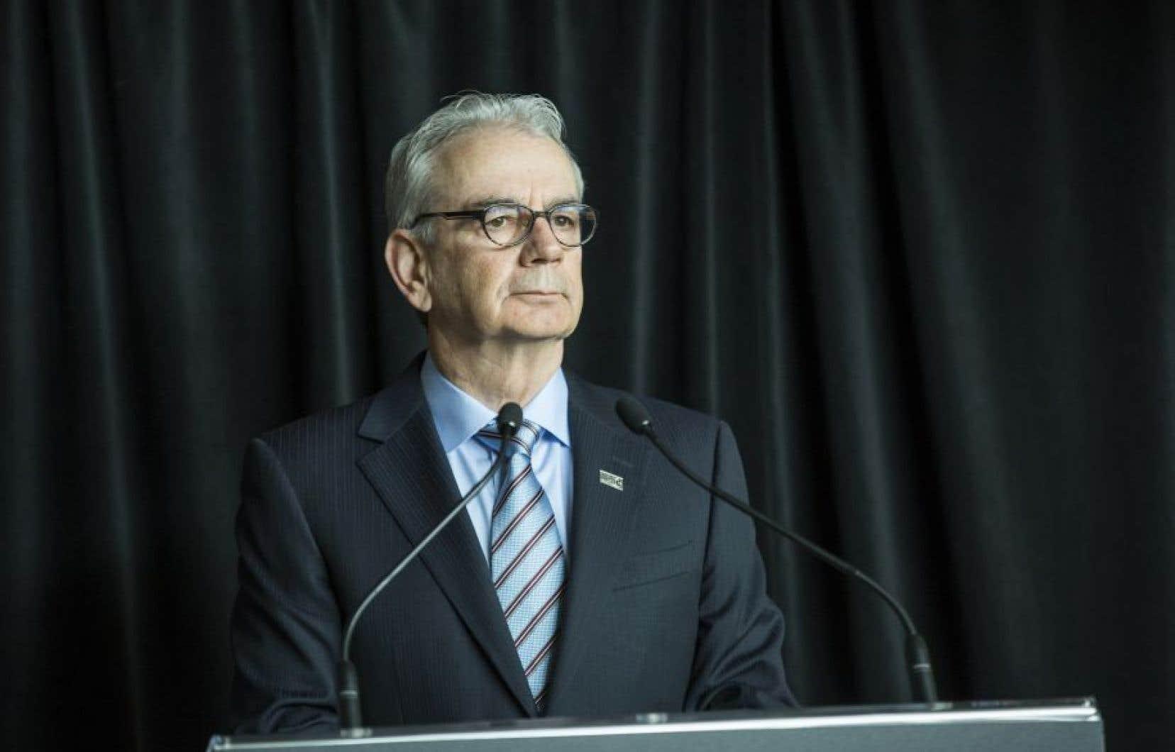 Le patron de l'Unité permanente anticorruption, Robert Lafrenière