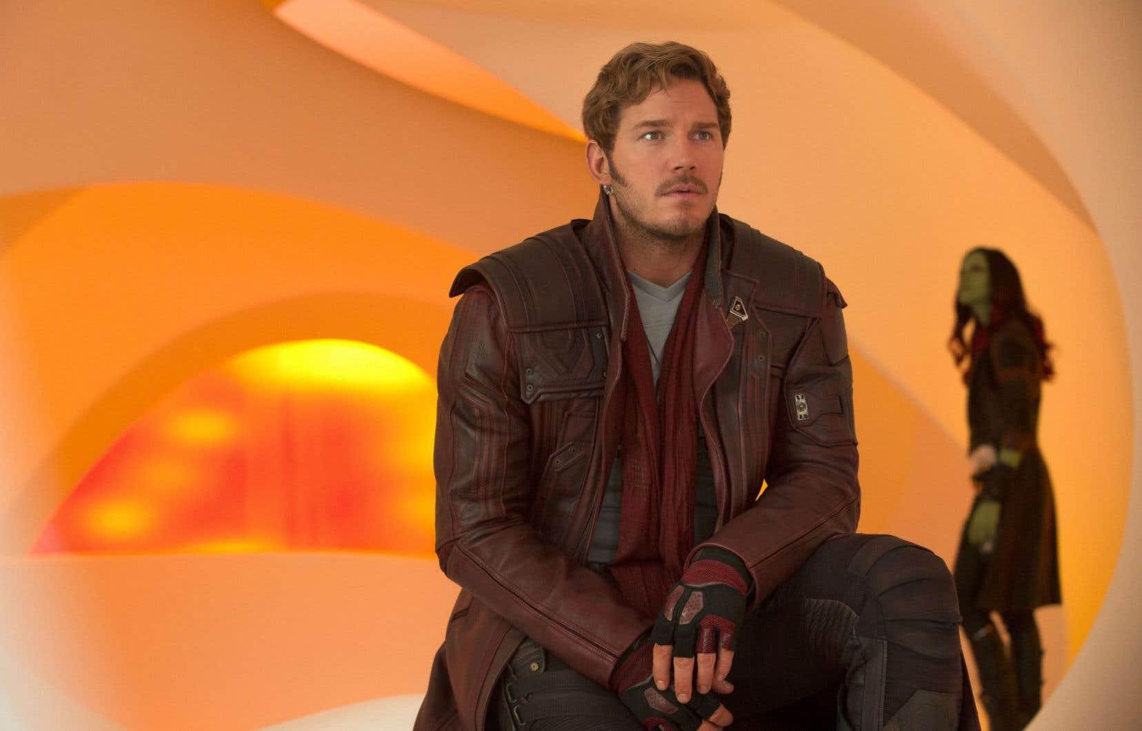 Chris Pratt continue de faire merveille dans le rôle de Peter Quill dans «Les gardiens de la galaxie vol. 2».