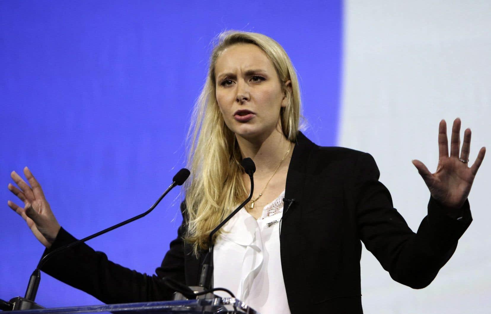 Le retrait de la vie politique de Marion Maréchal-Le Pen confirme le dynamitage de la classe politique française.