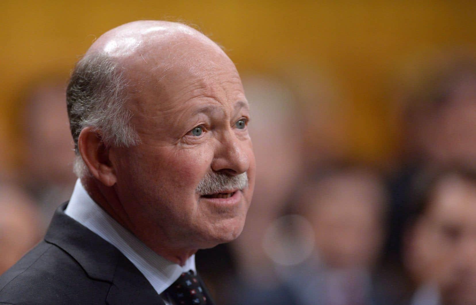 Le président du Comité permanent des langues officielles, le député libéral Denis Paradis