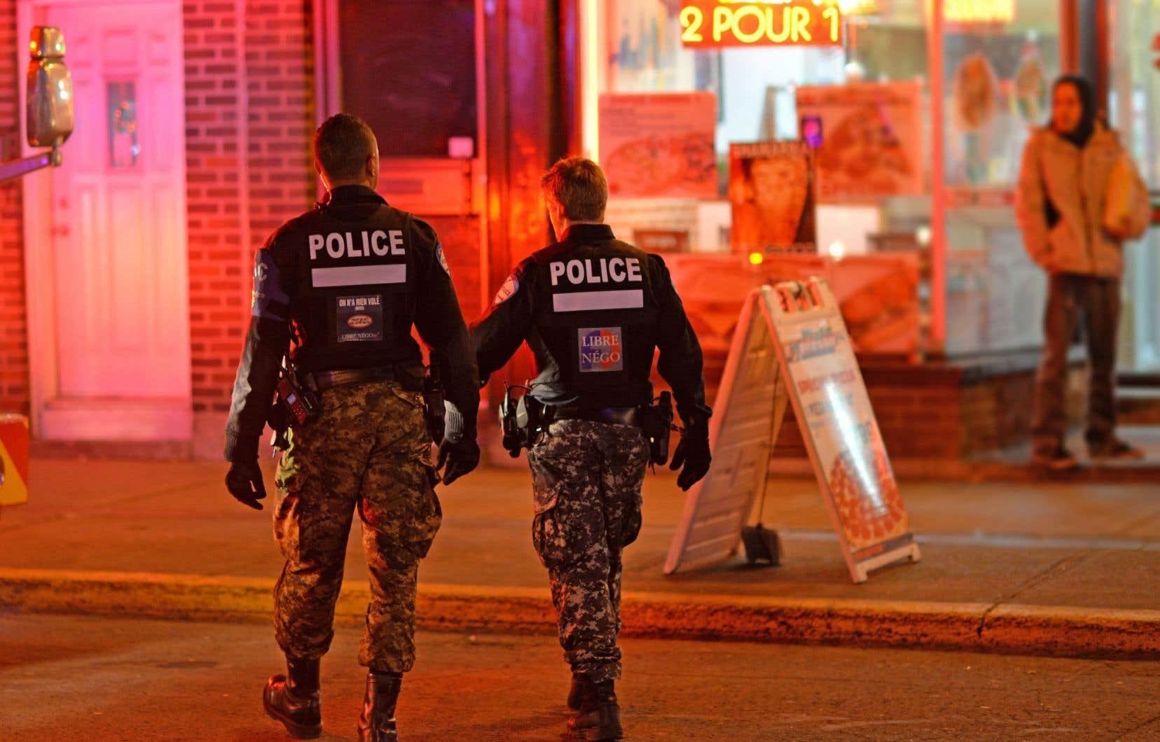 L'organisation policière montréalaise atteint ses objectifs communautaires, estime la chercheuse Véronique Laprise. Elle ne permettrait cependant pas de dépister les individus radicalisés.
