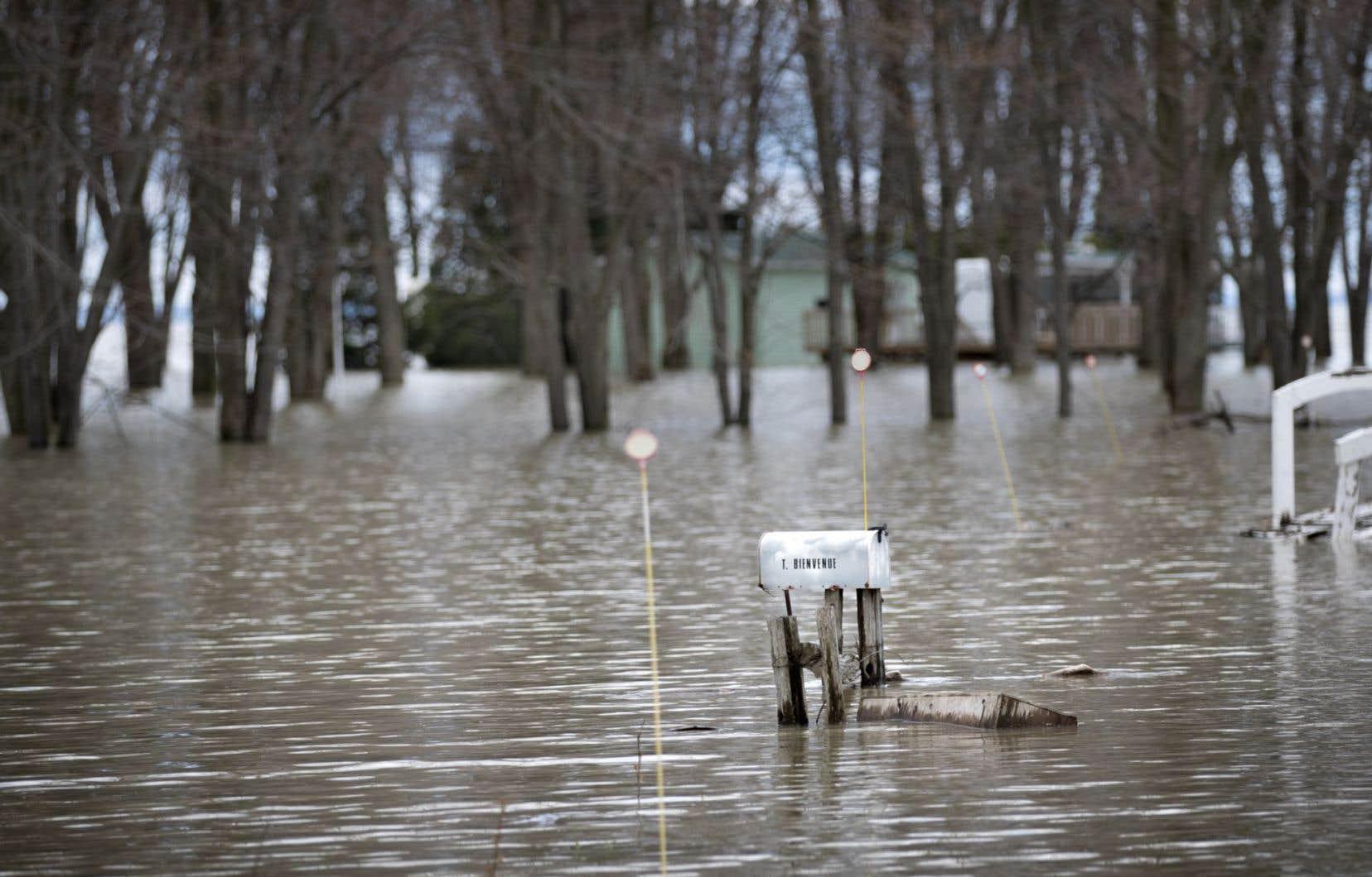 Le développement effréné des milieux humides et hydriques des cinquante dernières années contribue aux inondations, selon Canards illimités Canada.