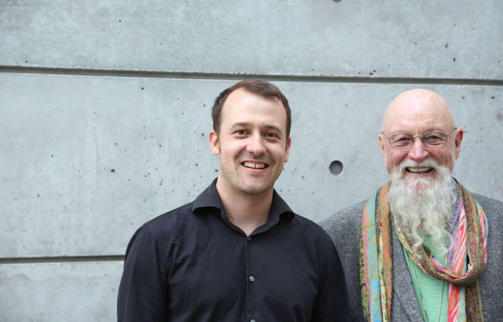 À Victoriaville, Terry Riley sera accompagné sur scène de son fils, Gyan, avec qui il a une relation musicale très intuitive.