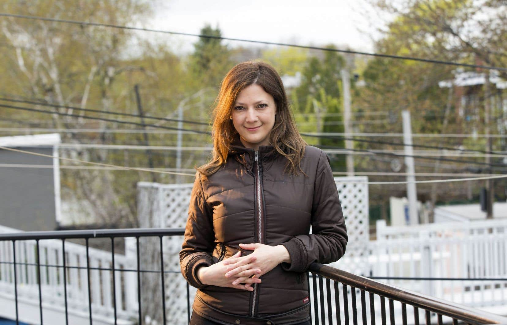 Marie Hélène Poitras a choisi se s'installer à Montréal il y a 22 ans.